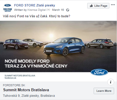 ford facebook